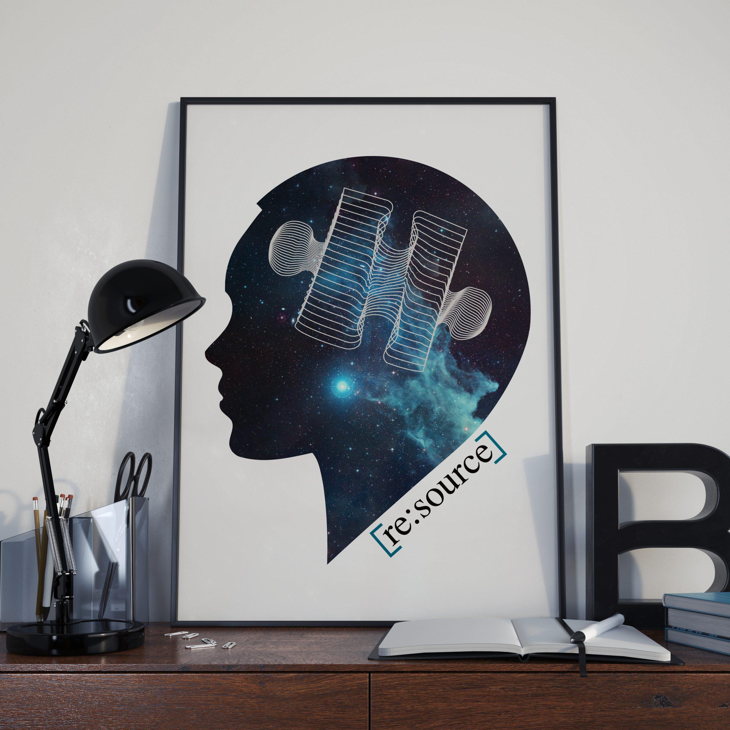 Visage - Puzzle - logo - univers