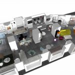 3D magasin Roche Bobois - Bastia - Corse