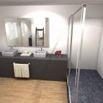 3D salle de bain - Roche Bobois