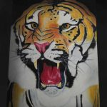 Dessin Tigre Pastels